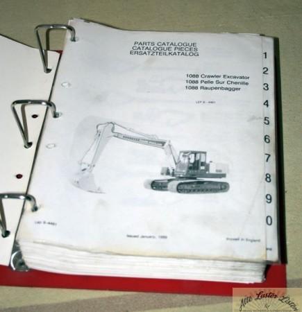 CASE POCLAIN 1088 C Excavator, Raupenbagger