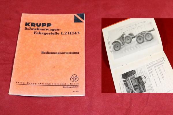 Krupp Protze L 2 H 143 Schnellastwagen - Fahrgestell
