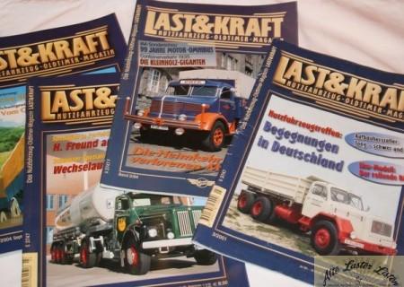 Zeitschriften Last + Kraft