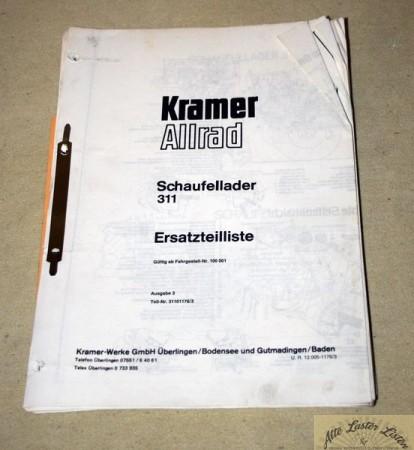 KRAMER Allrad 311 Radlader