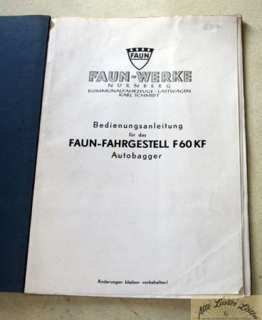 FAUN F 60 KF Autobagger