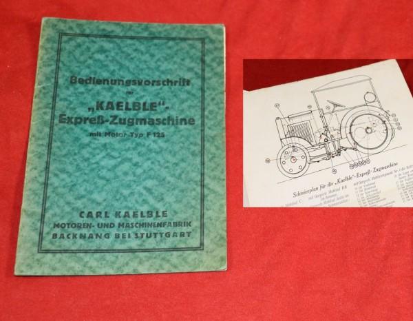 Kaelble Expreß Zugmaschine