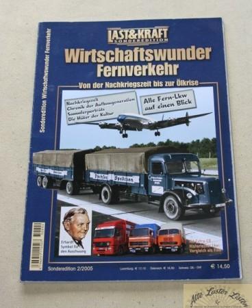Last + Kraft Sonderheft Wirtschaftswunder Fahrzeuge