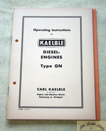 Kaelble Motoren Typ GN